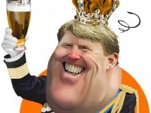 Willem-Alexander-karikatuur