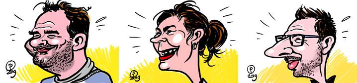 Karikaturen digitaal